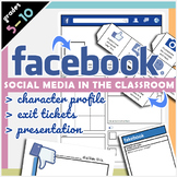 Facebook Social Media Bundle - Profile, Presentation, Exit