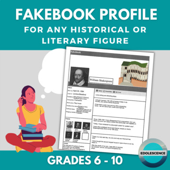 Facebook Profile for Historical figure