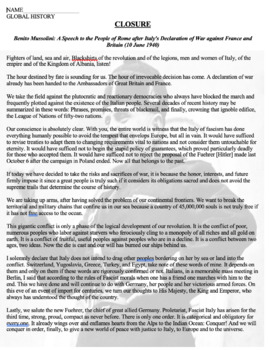 Hitler's Facebook Profile Activity: Fascist leaders HITLER+MUSSOLINI BUNDLE