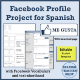 Facebook Profile Project for Spanish