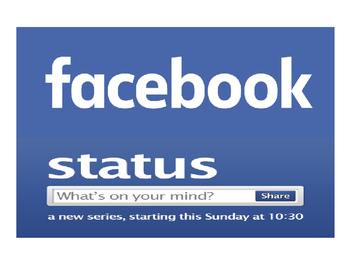 Back to School Facebook Status Interactive Bulletin Board