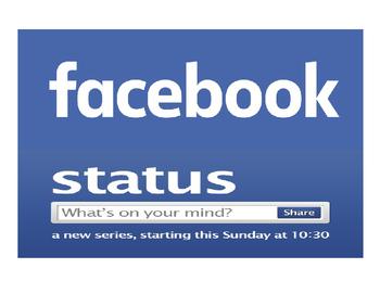 Back to School Facebook Status Interactive Bulletin Board