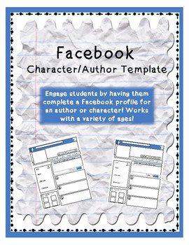 facebook template teaching resources | teachers pay teachers, Powerpoint templates