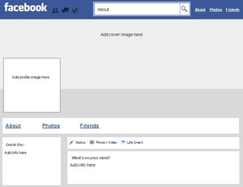 Facebook Template Editable On Google Slides By Roombop Tpt