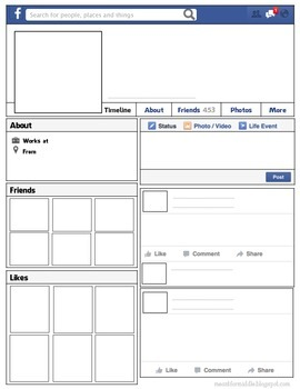 Facebook Template - Introduce Yourself Activity