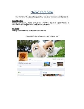 Facebook Profile Template (New Look)