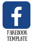 Facebook Template - Word Doc