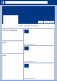 Facebook Template for Research Project