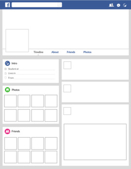 Facebook Timeline Poster Template - Back to School