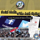Facebook, Twitter & the Arab Spring - Rate of Change - 21st Century Math Project