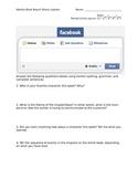 Facebook Weekly Book Report--High School English