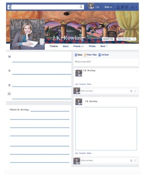 Facebook Writing Activity