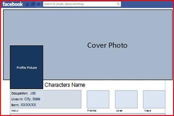 Facebook Writing Template