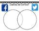 Facebook vs. Twitter Compare and Contrast Passage, Venn Diagram, Writing