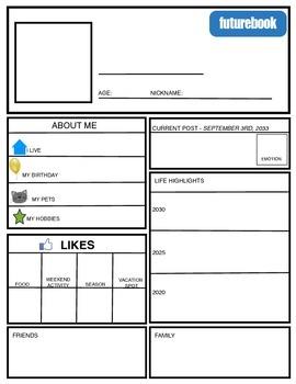 Facebook/FutureBook Profile
