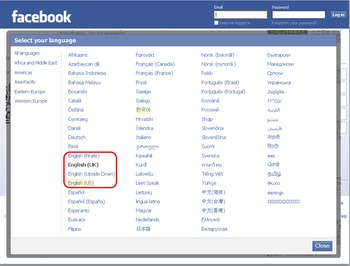 Facebook/Social Networks Discussion Class (English Conversation)