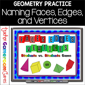 Edges Vertices Faces Worksheets & Teaching Resources | TpT