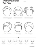Faces Feelings Worksheet