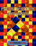 Faces, Vertices, and Edges {Geometry Activity}