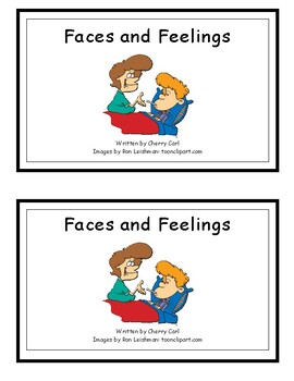 Faces and Feelings Guided Reader (-ace Word Family)