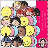 Faces clip art - Combo Pack- by Melonheadz