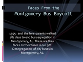 Faces from the Montgomery Bus Boycott of 1955