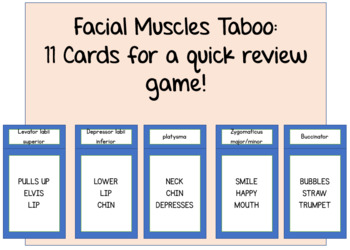 Facial Muscles Taboo