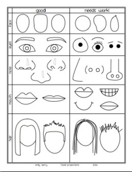Facial Proportion Packet: How To Draw Portraits