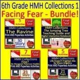 6th Grade HMH Collections 1 - Facing Fear Literature Bundle - HRW