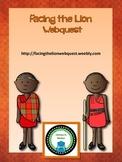 Facing the Lion: Growing up Maasai Webquest Packet (Bonus