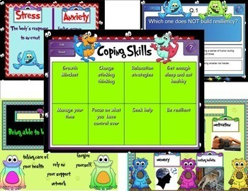 Facing the Stress & Anxiety Monster: SMARTboard Building Resiliency