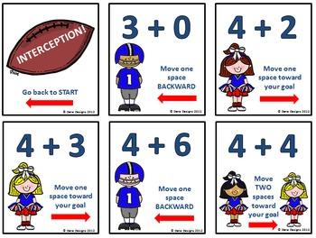 Fact Ball - Addition Football Game