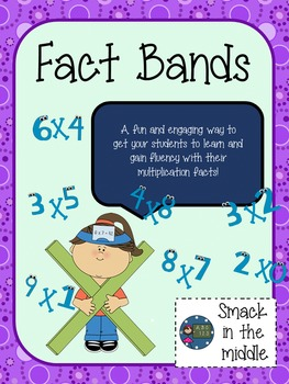 Fact Bands : a multiplication center game
