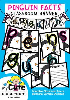 Fact Banners Bundle {Bunting, Garland, Pennant Display}
