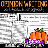 Fact-Based Halloween Opinion Writing with Articles