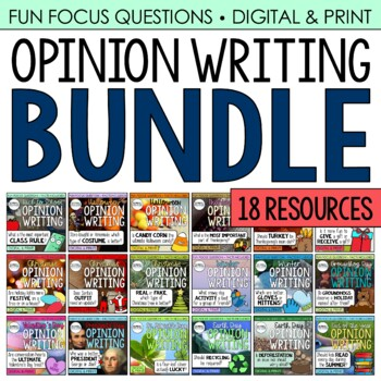 Fact-Based Opinion Writing BUNDLE