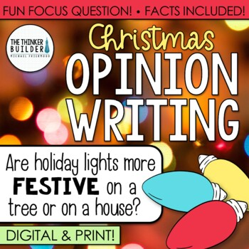 Fact-Based Opinion Writing for Christmas {Question #2}