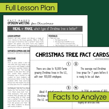 Fact-Based Opinion Writing for Christmas {Question #4}
