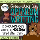 Fact-Based Opinion Writing for Groundhog Day