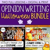 Halloween Writing: Opinion Writing Lessons & Activities {Question #1 and #2}