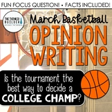 Fact-Based Opinion Writing for March Basketball