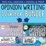 Winter Writing: Opinion Writing for a Snowy Day {Question #1 and #2}
