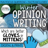 Fact-Based Opinion Writing for a Snowy Day {Question #2}