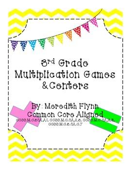 Fact Bingo - Common Core Aligned Multiplication Game