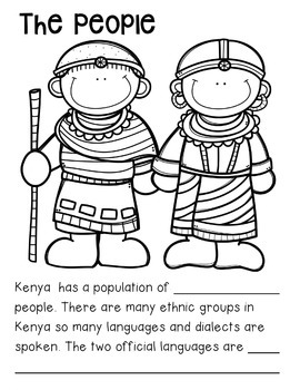 Fact Book: All about the Country of Kenya