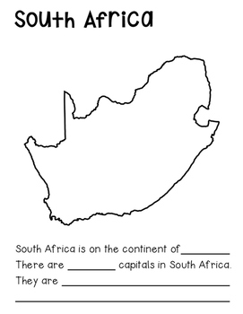 Fact Book: All about the Country of South Africa