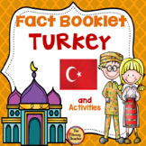 Turkey Fact Booklet and Activities