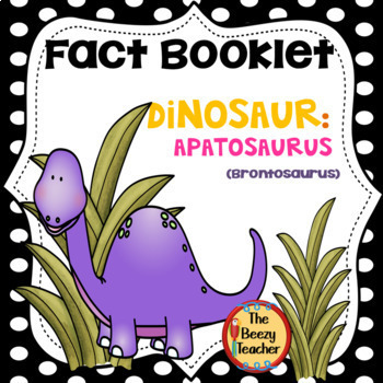 Fact Booklet - Apatosaurus