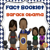 Black History Barack Obama Fact Booklet