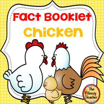 Distance Learning Chicken Fact Booklet
